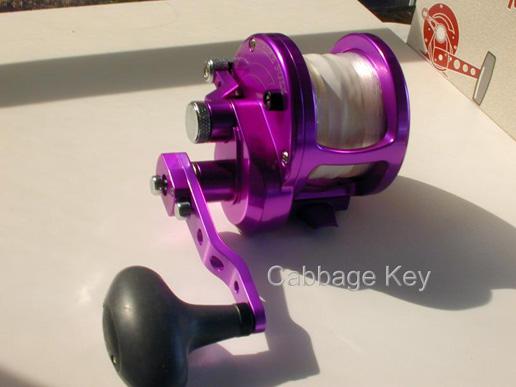 Avet reels gone fishing pinterest for Purple fishing reel