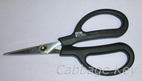 JB braided line scissors